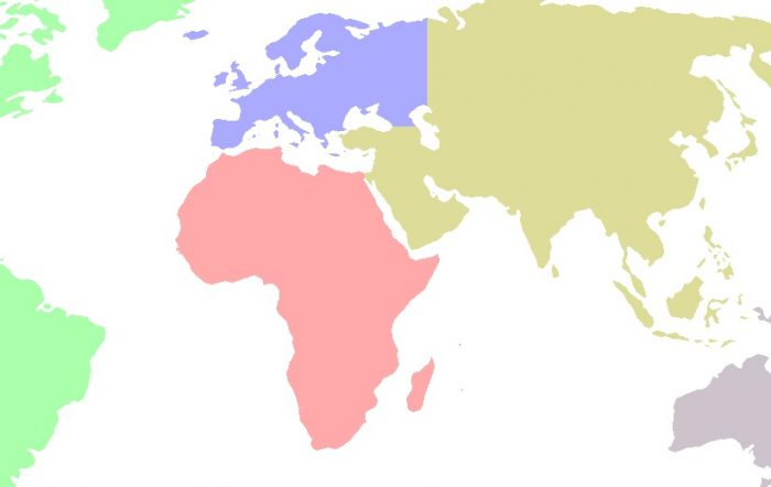 Facts about continents