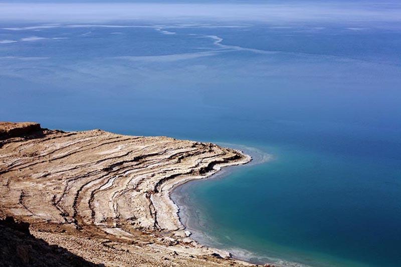 The Dead Sea shore