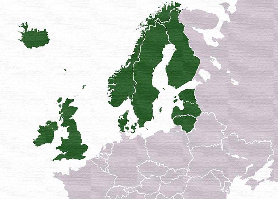 Facts about Northern Europe