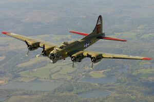 20 facts About The B-17 Flying Fortress Bomber