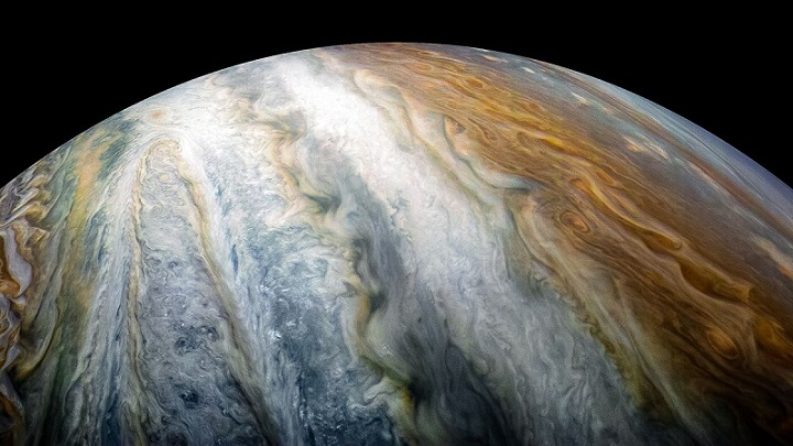 Jupiter surface