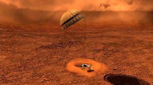 Titan landing