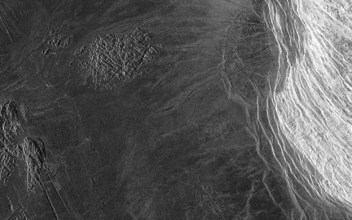 Venus mountains